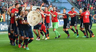 Bayern Munich Win Sixth Straight German Title