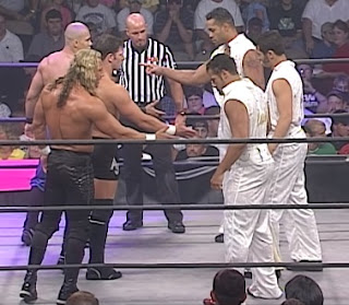 NWA: TNA - First Ever Event - AJ Styles, Low Ki, and Jerry Lynn face The Flying Elvises