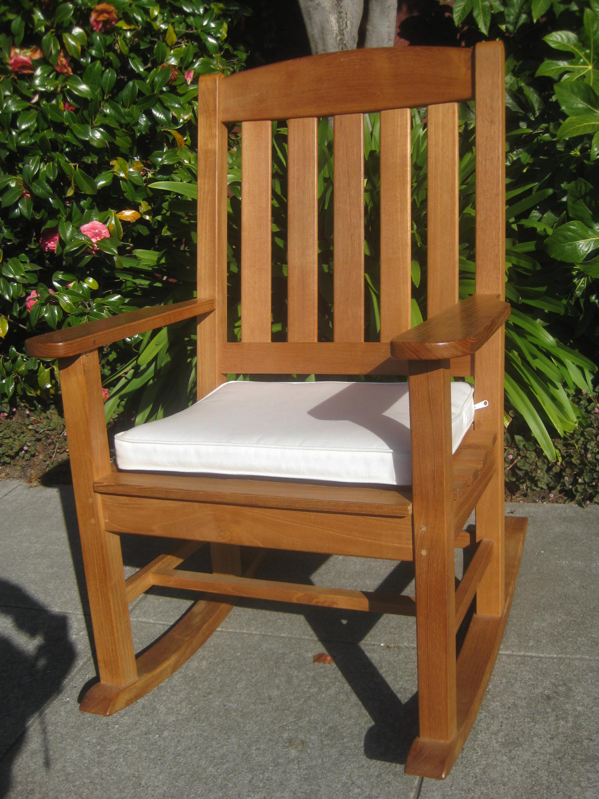 Sold Smith Hawken Teak Rocking Chair 200
