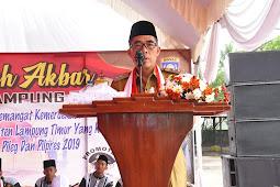 Zaeful bokhari ajak Masyarakat Junjung tinggi persatuan kesatuan