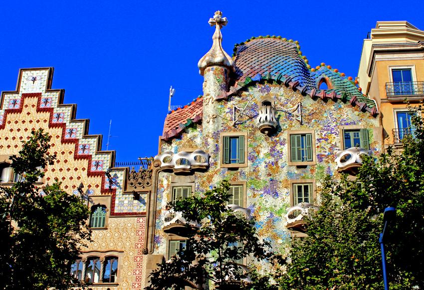 BARCELONA  part IV   –   Casa Battlo,  Park Guell