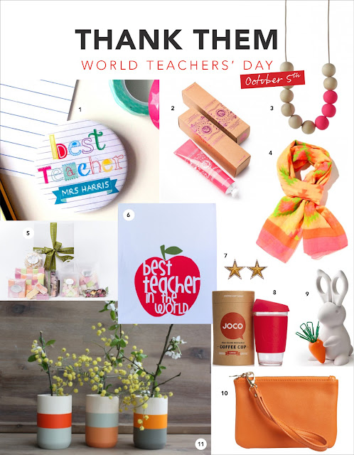 Teacher day gifts