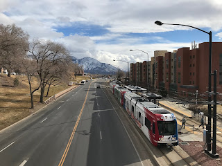 Public Transport: Trax at Fort Douglas, University of Utah