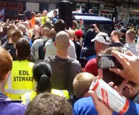 EDL Racism In Newcastle - Watch The Video