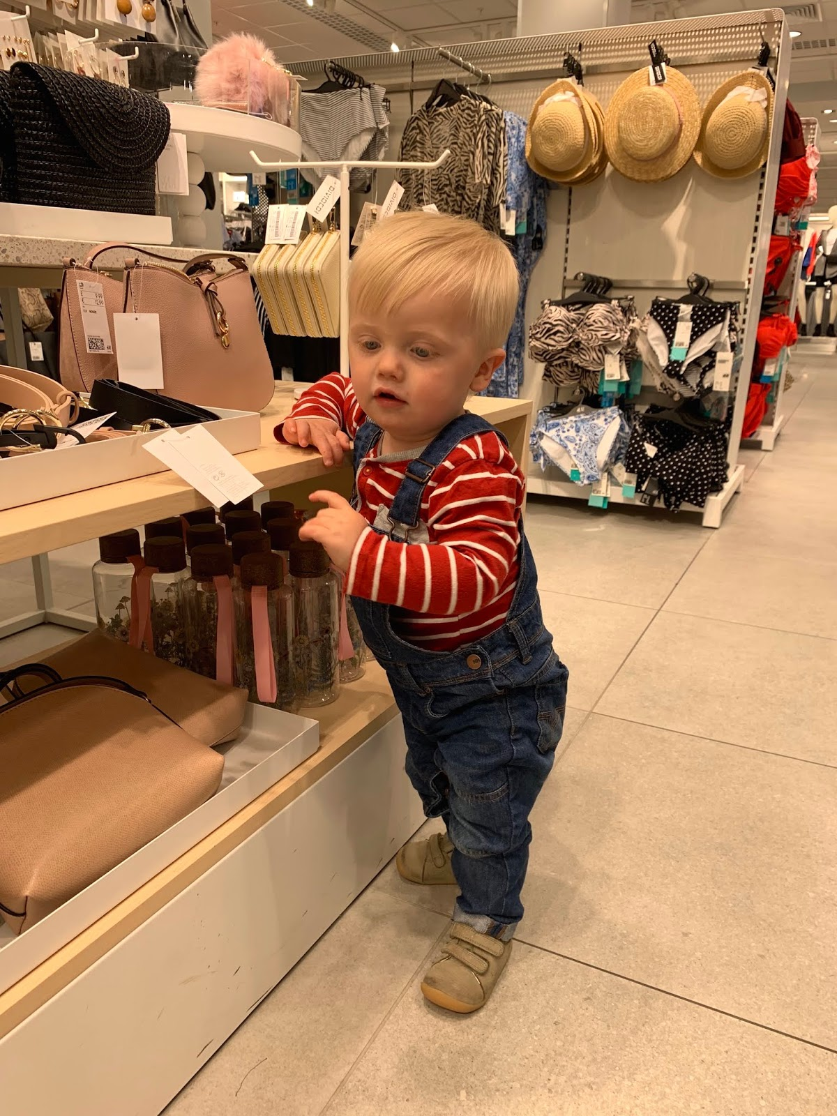 Baby shopping in H&M Intu Potteries