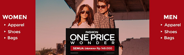 FASHION ONE PRICE WONDER - LAZADA