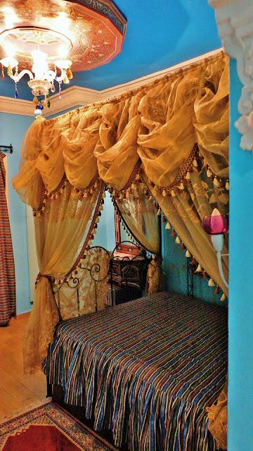 Изображение прикроватного балдахина, Касабланка