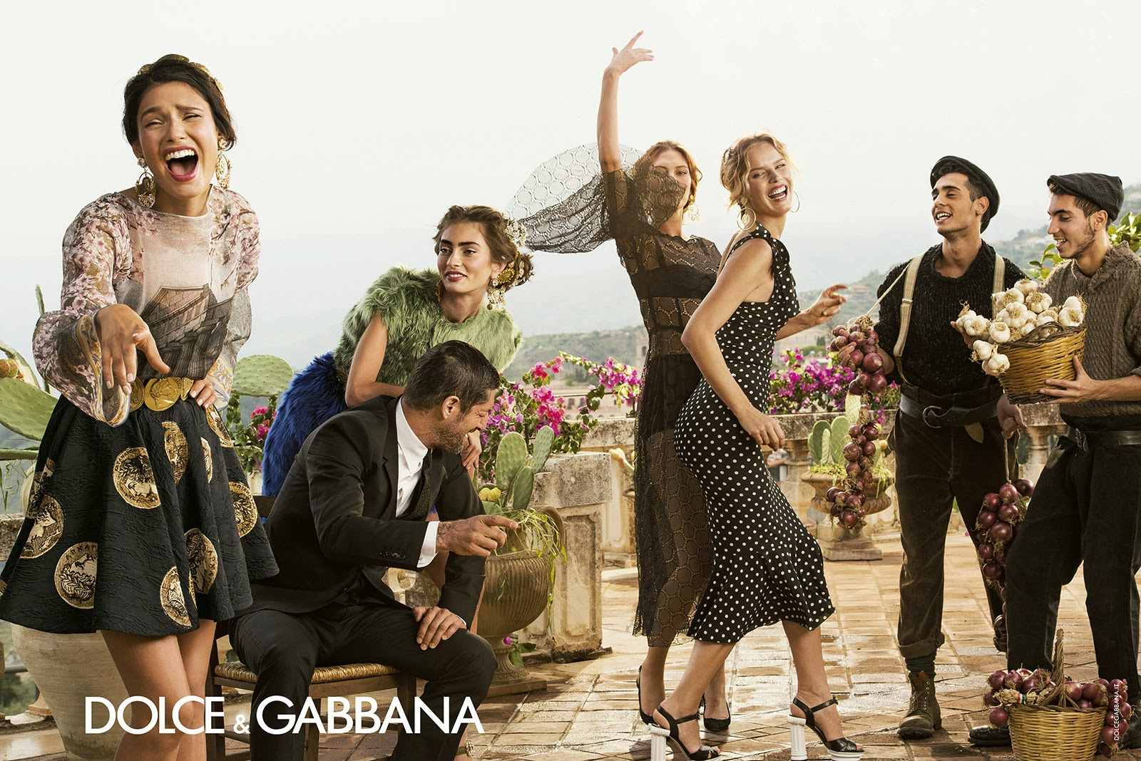 2c962e53 Fashion Photography: Dolce & Gabbana SS2014 Women's Advertising Campaign