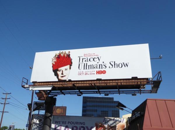 Tracey Ullmans Show season 2 billboard