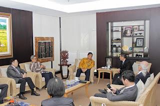 Menteri Perindustrian Airlangga Hartarto Terima Kunjungan Genting Energy