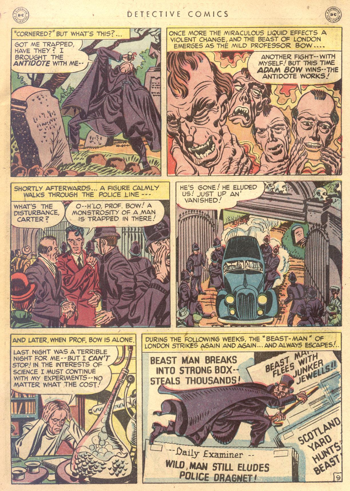 Read online Detective Comics (1937) comic -  Issue #134 - 45