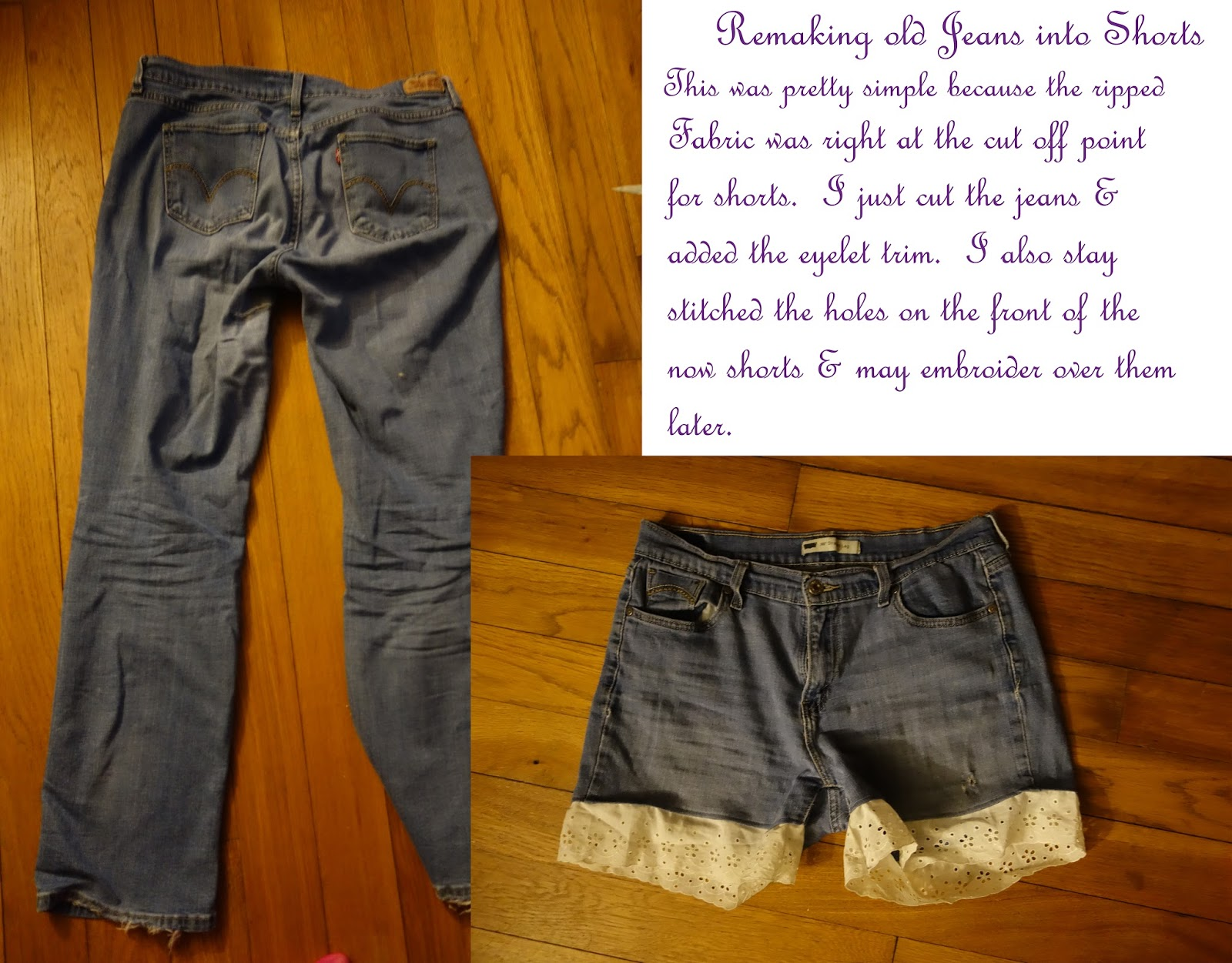 ed56ce72f3 This was a really simple sewing project I did the other day. I haven't  owned shorts in ages but see they are coming back into fashion. I was  thinking of ...