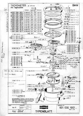 The Velobanjogent: BMW Motometer instruments...the R45