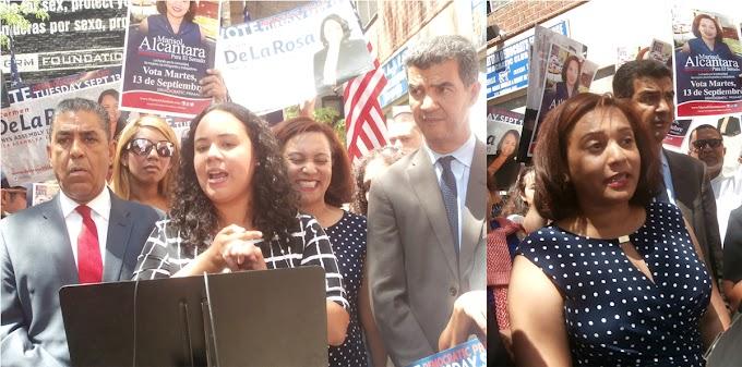 Activistas dominicanas del Alto Manhattan lanzan candidaturas al senado  y asamblea estatal de NY