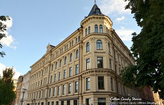 Altbau in Stockholm