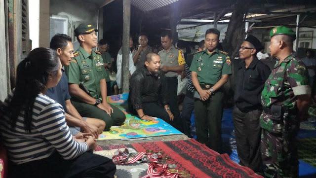 Kunjungan Danrem 162/WB ke rumah Lalu Muhammad Zohri