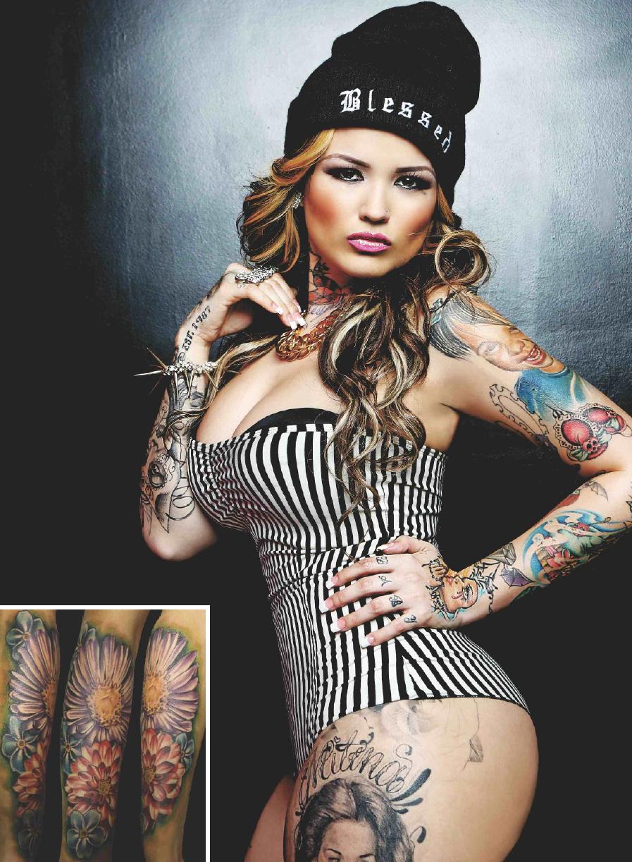 Tattoo Bikini: NWK To MIA: Tatu Baby Covers Rebel Ink Magazine