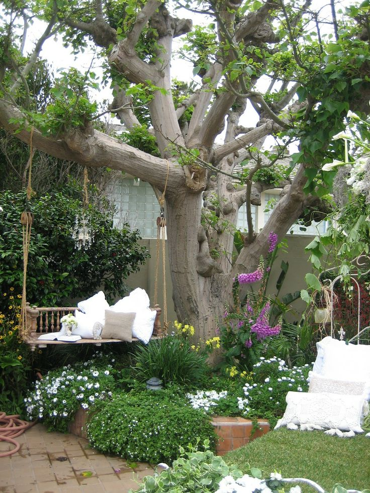 Simple Details: Charming Garden Ideas on Backyard Landscaping Ideas With Trees id=15038