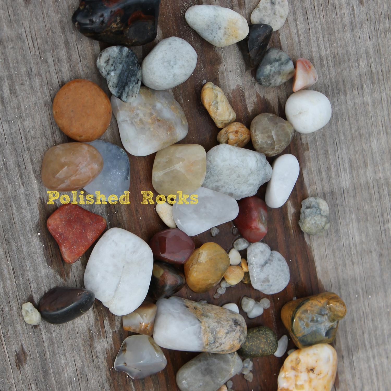 Doodlecraft Tumbled Polished Rocks