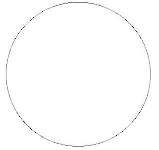 قطعة او جزء من محيط الدائرة