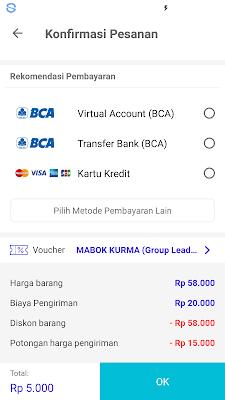 pembayaran kurma gratis dari aplikasi mucho