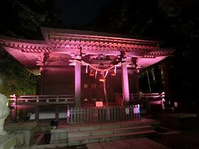 長谷の灯かり・甘縄神明神社