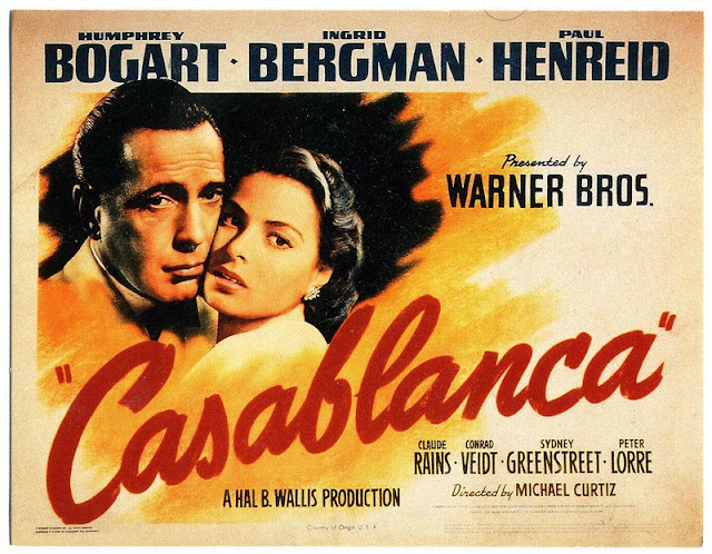 Cinema Noir - CASABLANCA (1942)