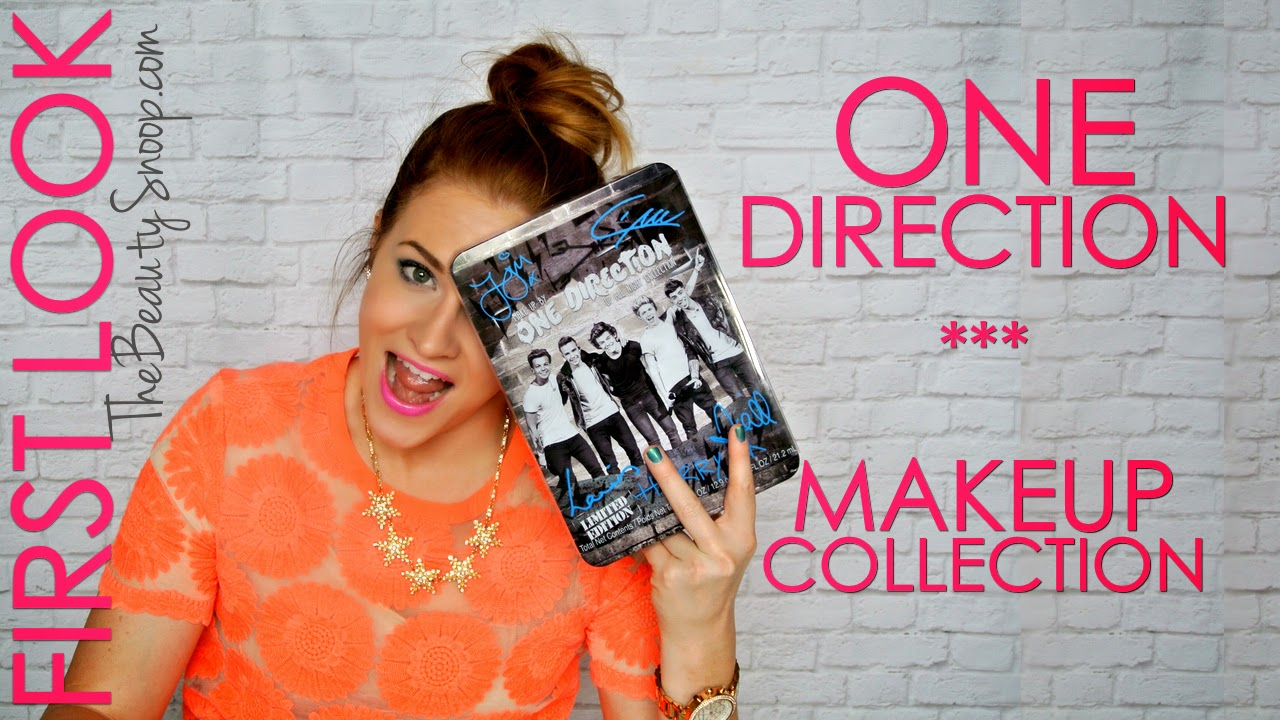 One Direction Makeup Collection, Makeup by One Direction - Launches new line at Macys, August 11th 2014