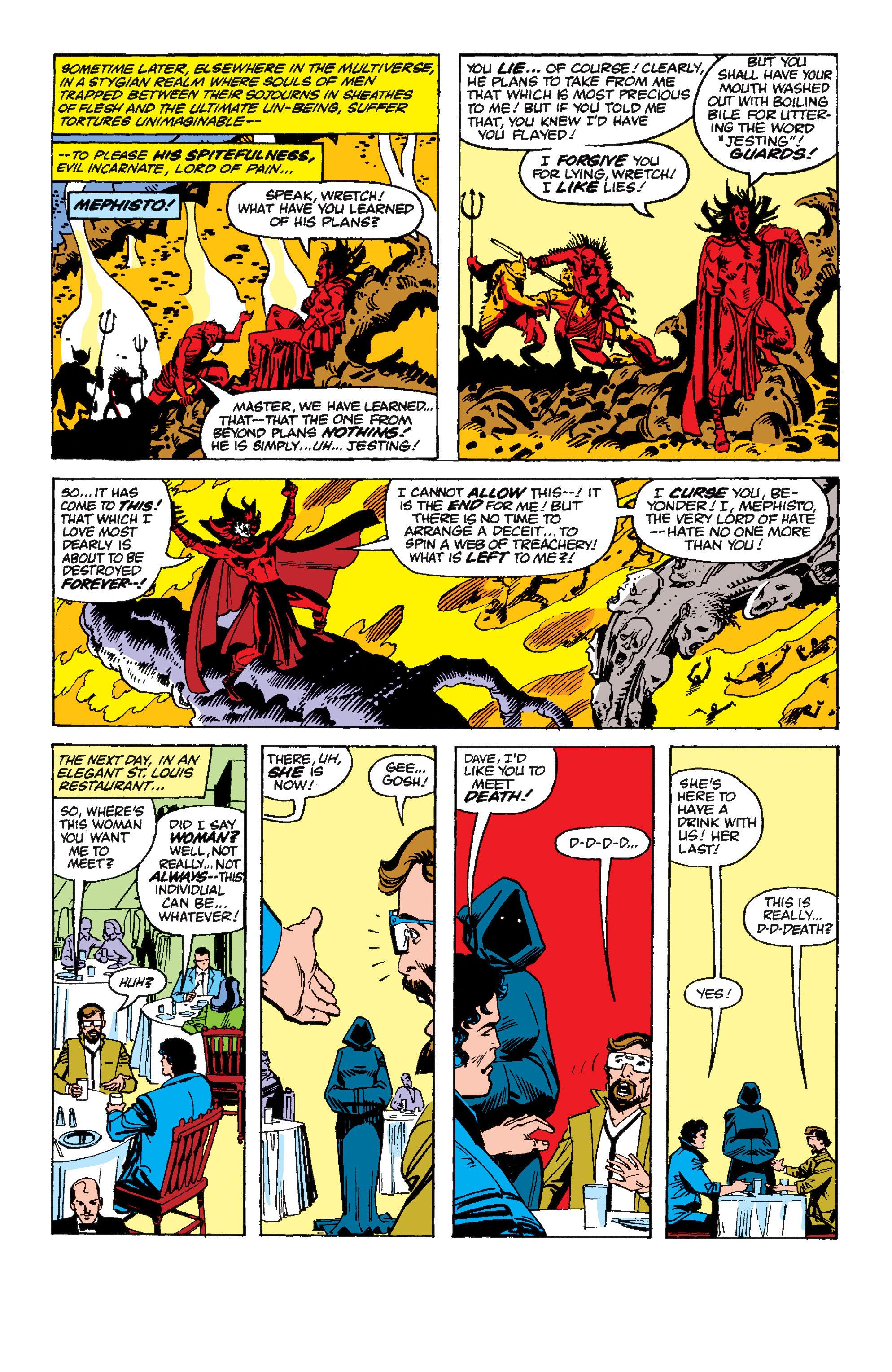 Read online Secret Wars II comic -  Issue #6 - 20