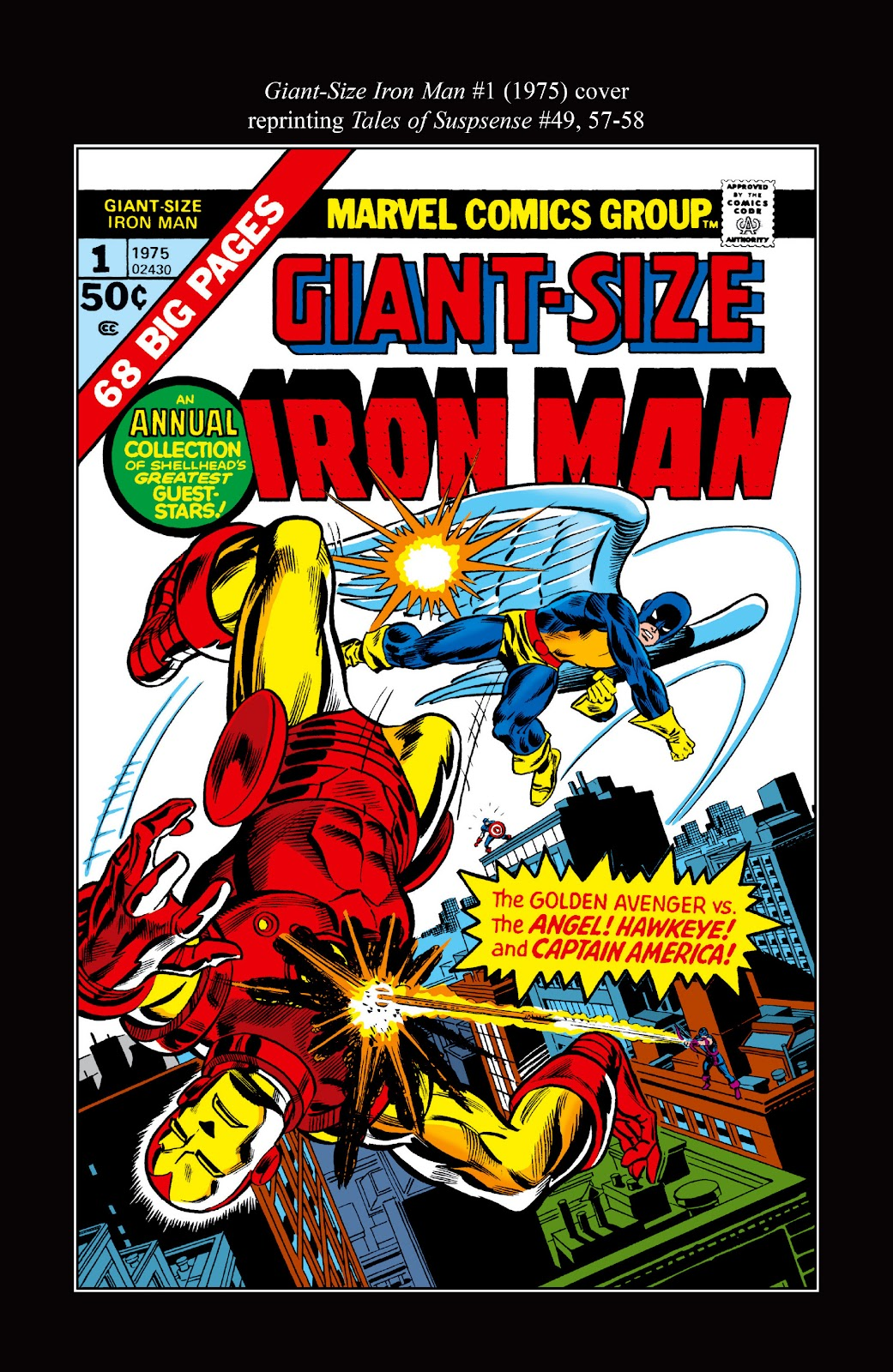 Read online Marvel Masterworks: The Invincible Iron Man comic -  Issue # TPB 10 (Part 3) - 51