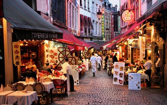 Gastronomia em Bruxelas