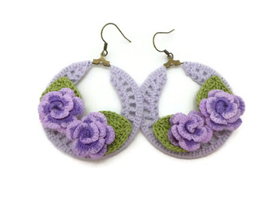 https://www.etsy.com/listing/293221565/purple-crochet-hoop-earrings-with-purple