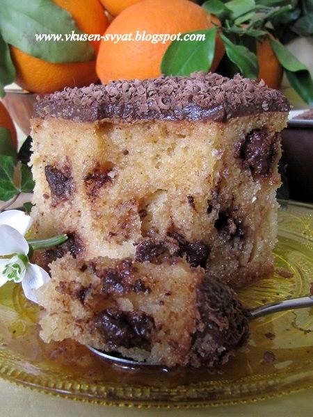 Сиропиран сладкиш Мирмигато / Sirupy Mirmigato Cake