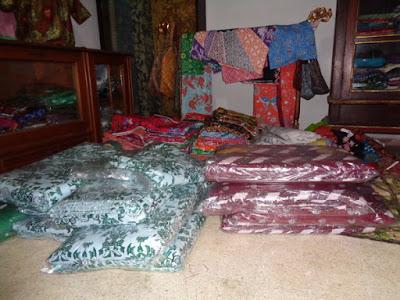 Seragam Batik sekolah Pondok Pesantren AL Huda Jawatimur