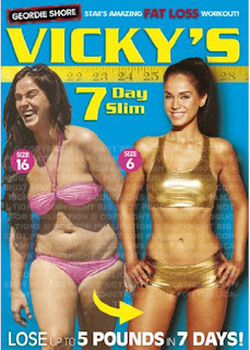 OFFER today Make Health and slim your body, Vicky Pattison's 7 Day Slim (DVD) £5.99