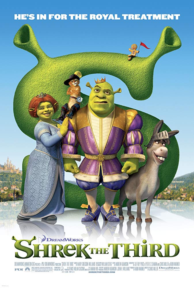 Capa Shrek Terceiro Dublado Torrent