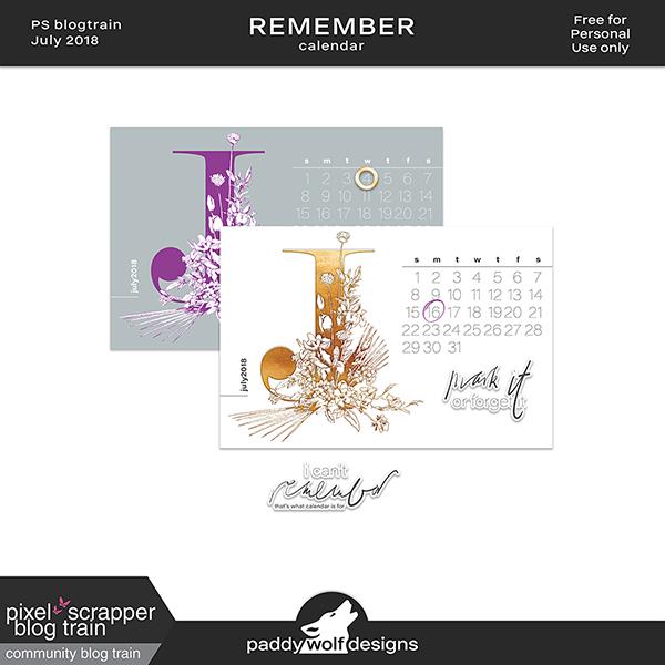 remember - free calendar