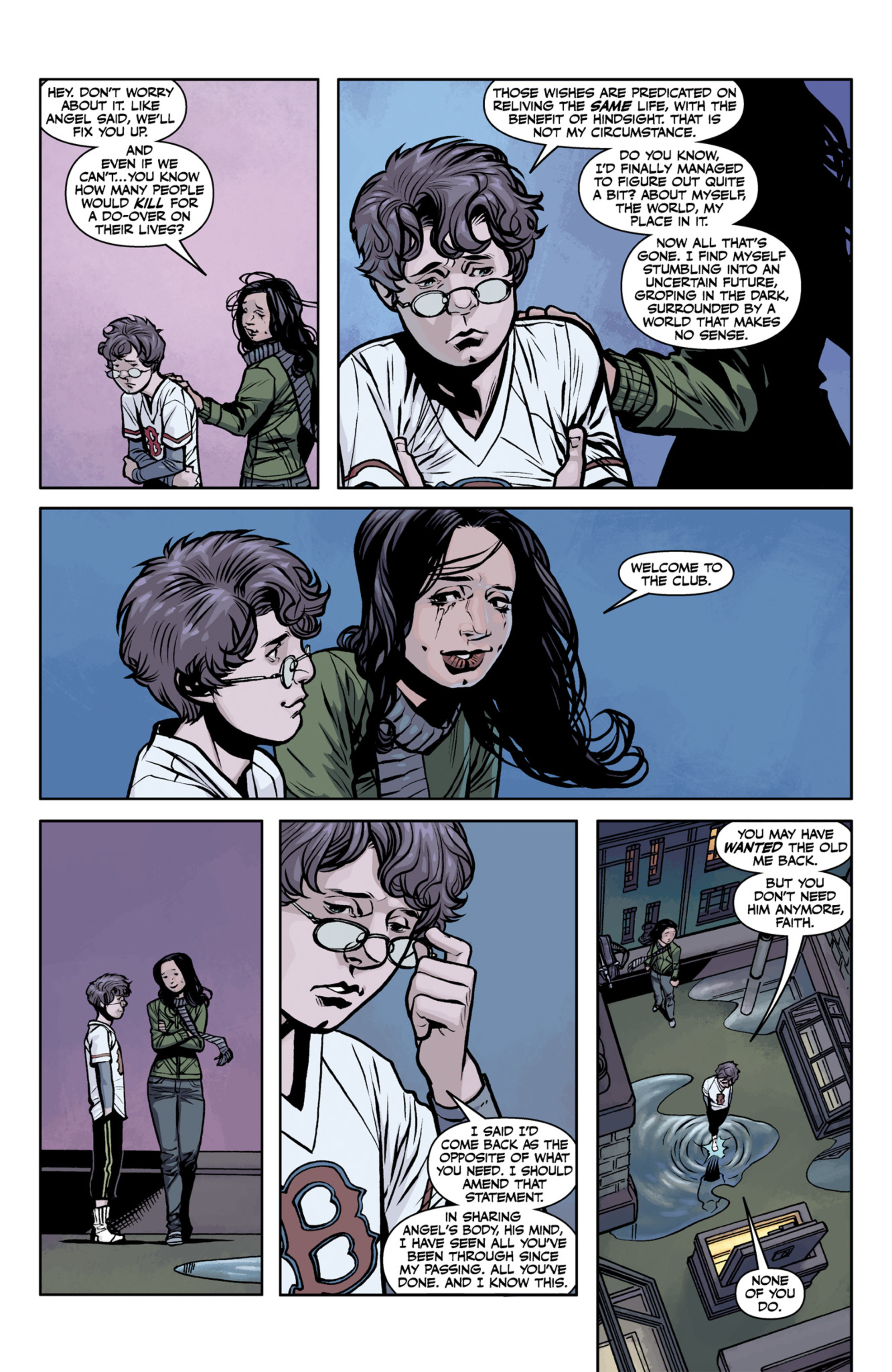 Read online Angel and Faith comic -  Issue #22 - 17