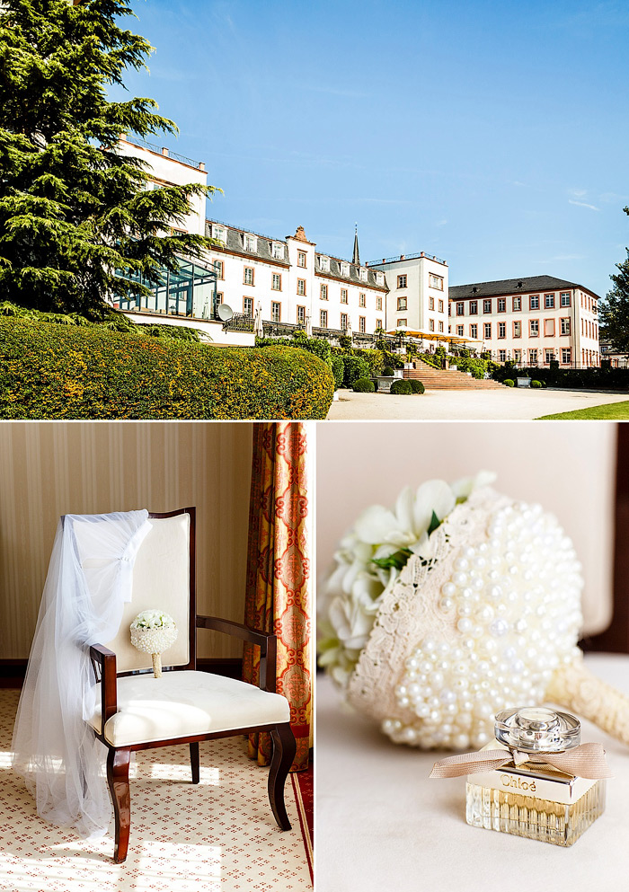 Inspirationen für ein Brautboudoir Shooting im Luxus Hotel.