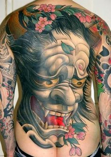 Hannya Mask Tattoo: Tattoo Designs Picture Gallery