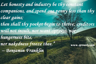 Benjamin Franklin Inspirational Quotes, http://www.sproutby.com/