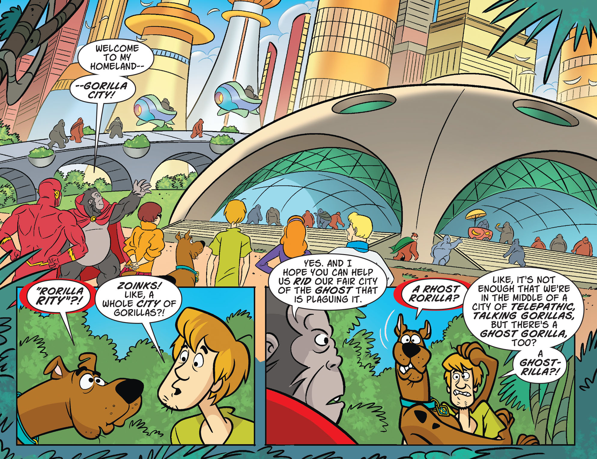 Read online Scooby-Doo! Team-Up comic -  Issue #29 - 13