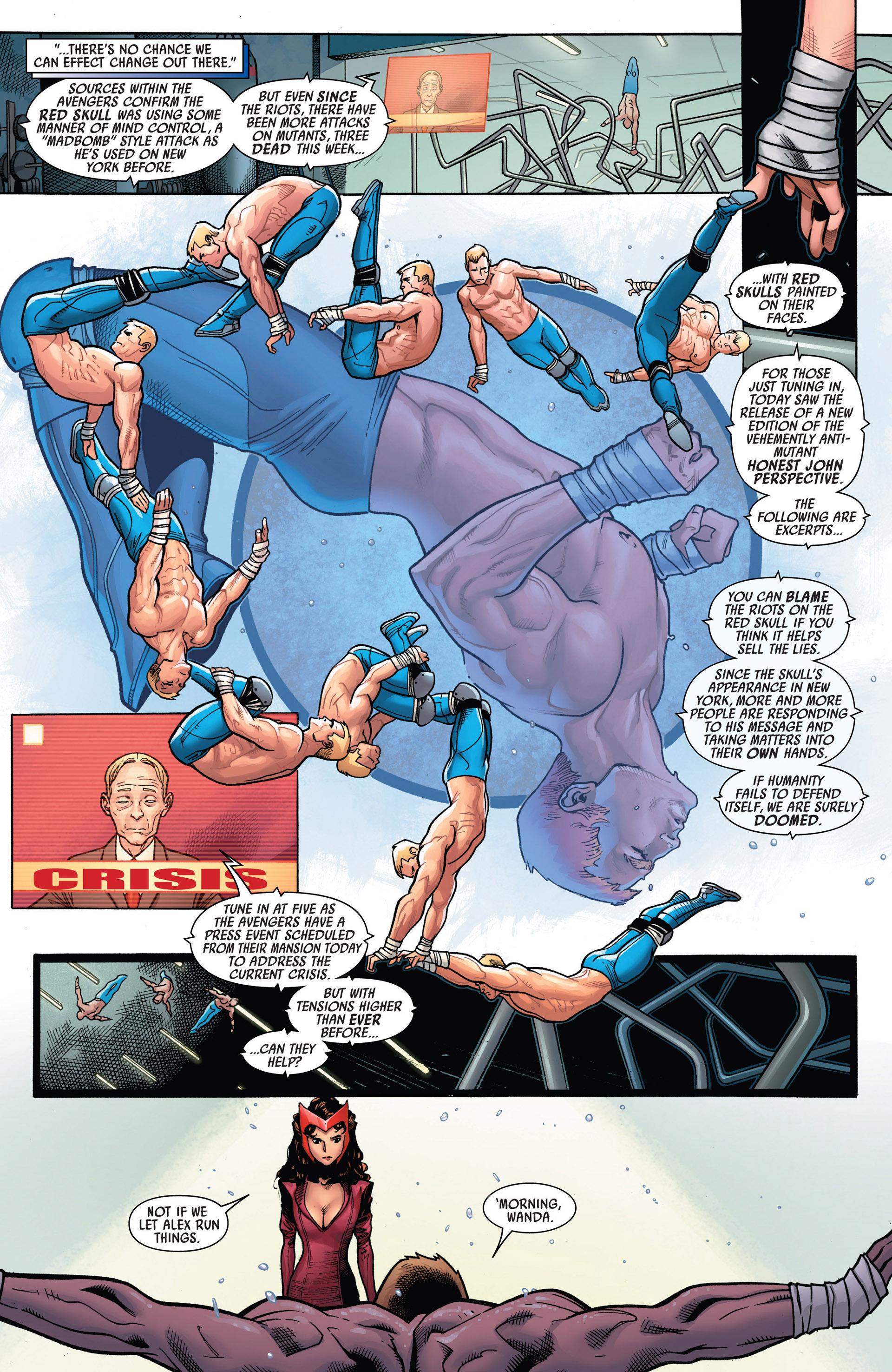 Read online Uncanny Avengers (2012) comic -  Issue #5 - 9
