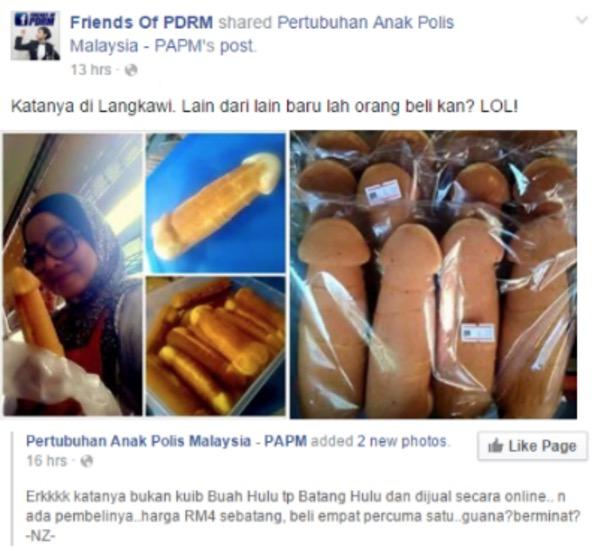 Viral Bahulu Bentuk Zakar Dijual di Langkawi