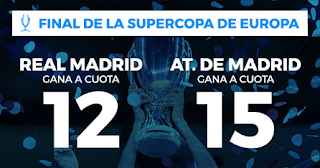 Paston Megacuota Supercopa de Europa Real Madrid vs Atletico 15 agosto