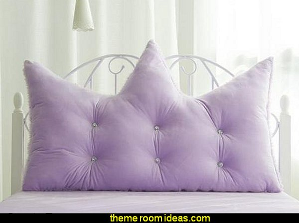Soft Purple Velvet Decoration Backrest Cushion