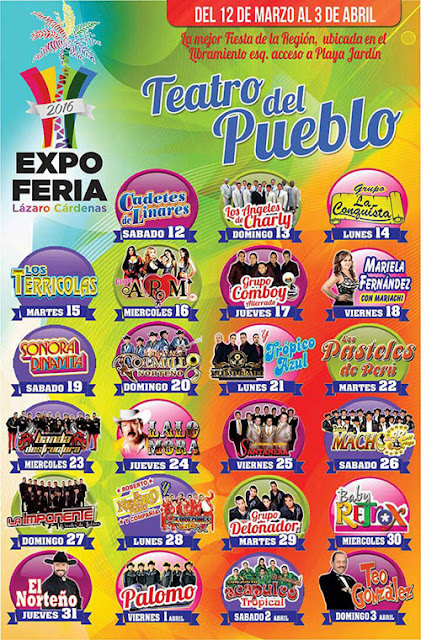 expo feria Lázaro Cárdenas 2016