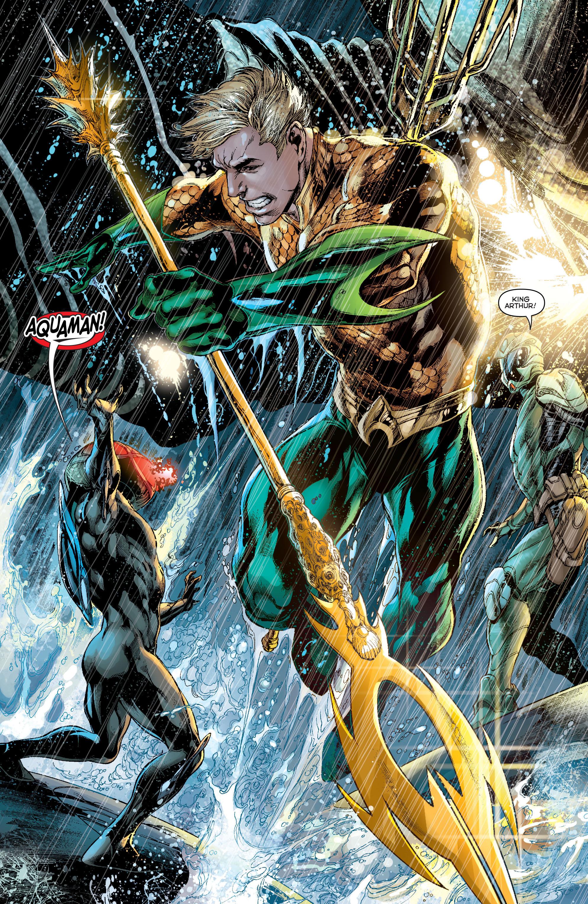 Read online Aquaman (2011) comic -  Issue #13 - 11