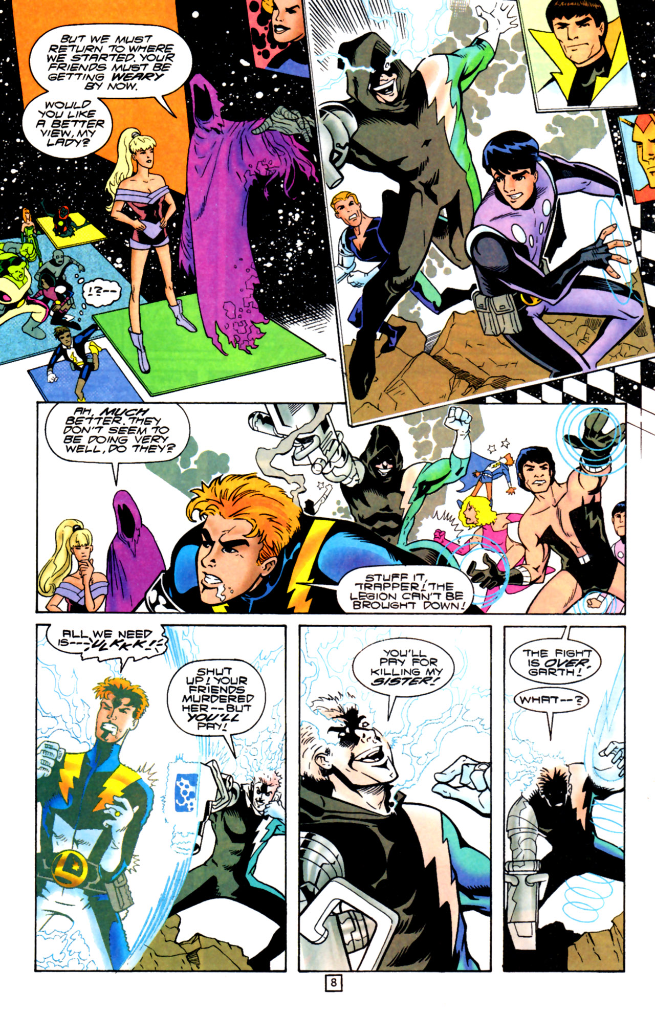 Legion of Super-Heroes (1989) 105 Page 7