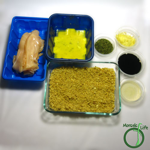 Morsels of Life - Nutty Asian Chicken Strips Step 1 - Gather all materials.